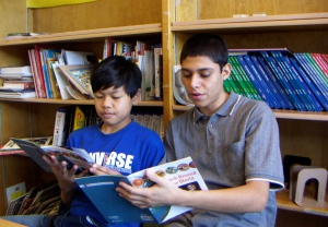 Seattle World School students